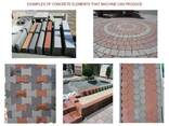 Вибропресс для производства тротуарной плитки U-1500 - фото 8