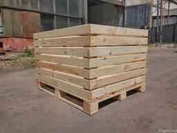 Яблочный контейнер деревянный