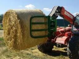 Захват для тюков на любой трактор или погрузчик - фото 5